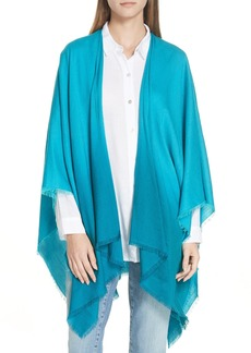 Eileen Fisher Ombré Poncho Wrap