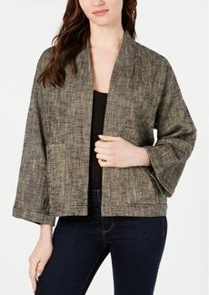 Eileen Fisher Open-Front Jacket
