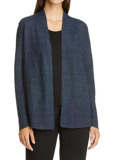 Eileen Fisher Open Front Organic Cotton Cardigan (Regular & Petite)