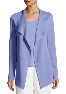 Eileen Fisher Open Interlock Cascade Jacket