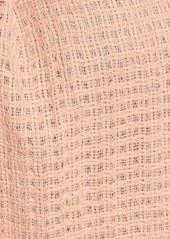 Eileen Fisher Open Weave Wool Scarf