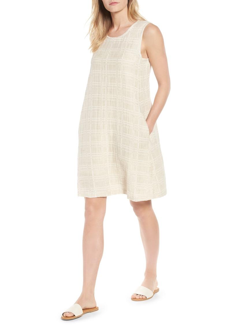a208206deb Eileen Fisher Eileen Fisher Organic Cotton   Linen Shift Dress ...