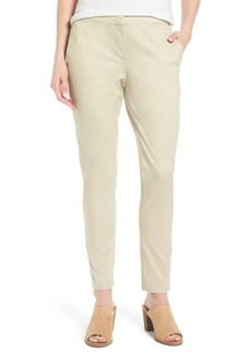 Eileen Fisher Organic Cotton & Tencel® Twill Pants