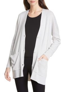 Eileen Fisher Organic Cotton Blend Boyfriend Cardigan