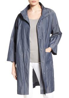 Eileen Fisher Organic Cotton Blend Coat