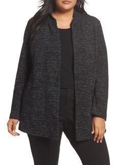 Eileen Fisher Organic Cotton Blend Jacket (Plus Size)
