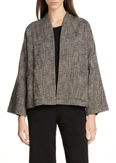 Eileen Fisher Organic Cotton Blend Jacket