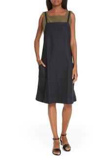 Eileen Fisher Organic Cotton Blend Layering Dress