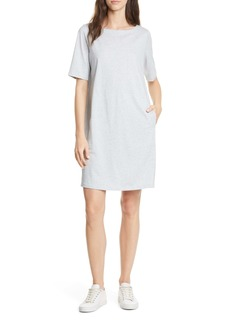 Eileen Fisher Organic Cotton Blend Shift Dress