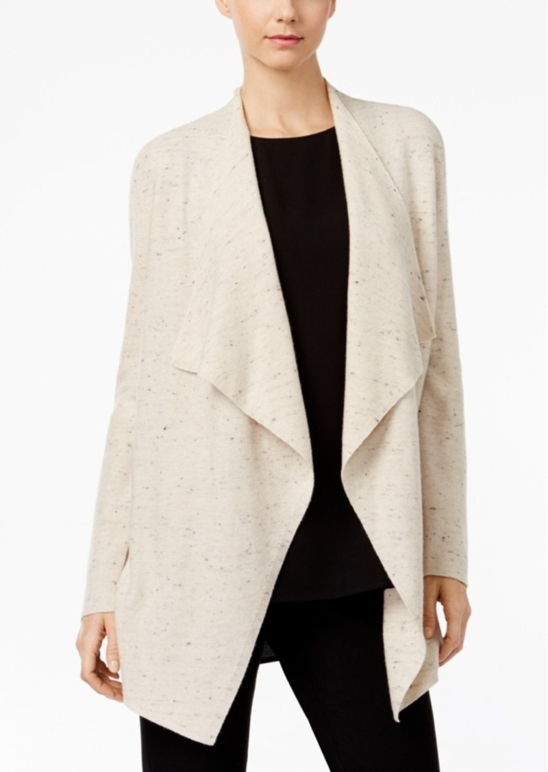 Eileen Fisher Eileen Fisher Organic Cotton-Blend Waterfall ...