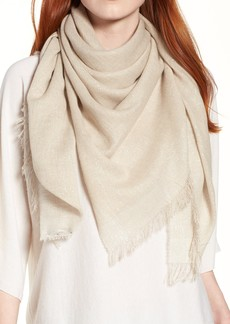 Eileen Fisher Organic Cotton Blend Wrap
