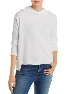 Eileen Fisher Organic Cotton Boxy Hooded Sweater
