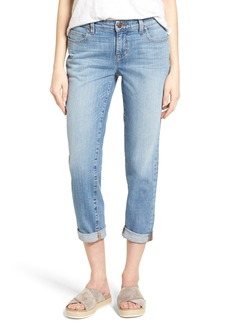 Eileen Fisher Organic Cotton Boyfriend Jeans (Online Only) (Regular & Petite)
