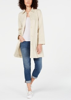 Eileen Fisher Organic Cotton Coat, Created for Macy's