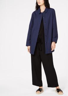 Eileen Fisher Organic Cotton Car Coat, Regular & Petite