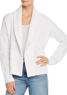 Eileen Fisher Organic Cotton Shawl-Collar Cardigan
