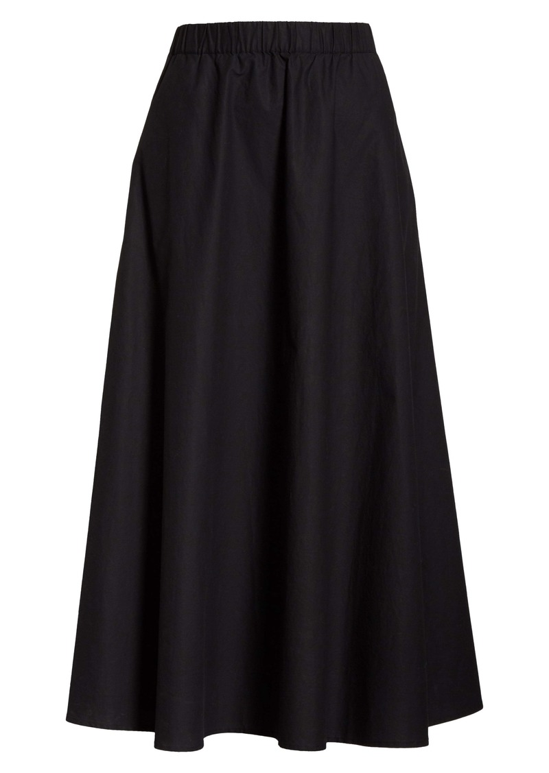 Eileen Fisher Organic Cotton Circle Skirt (Unisex) (Nordstrom Exclusive)