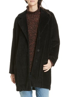 Eileen Fisher Organic Cotton Corduroy Coat