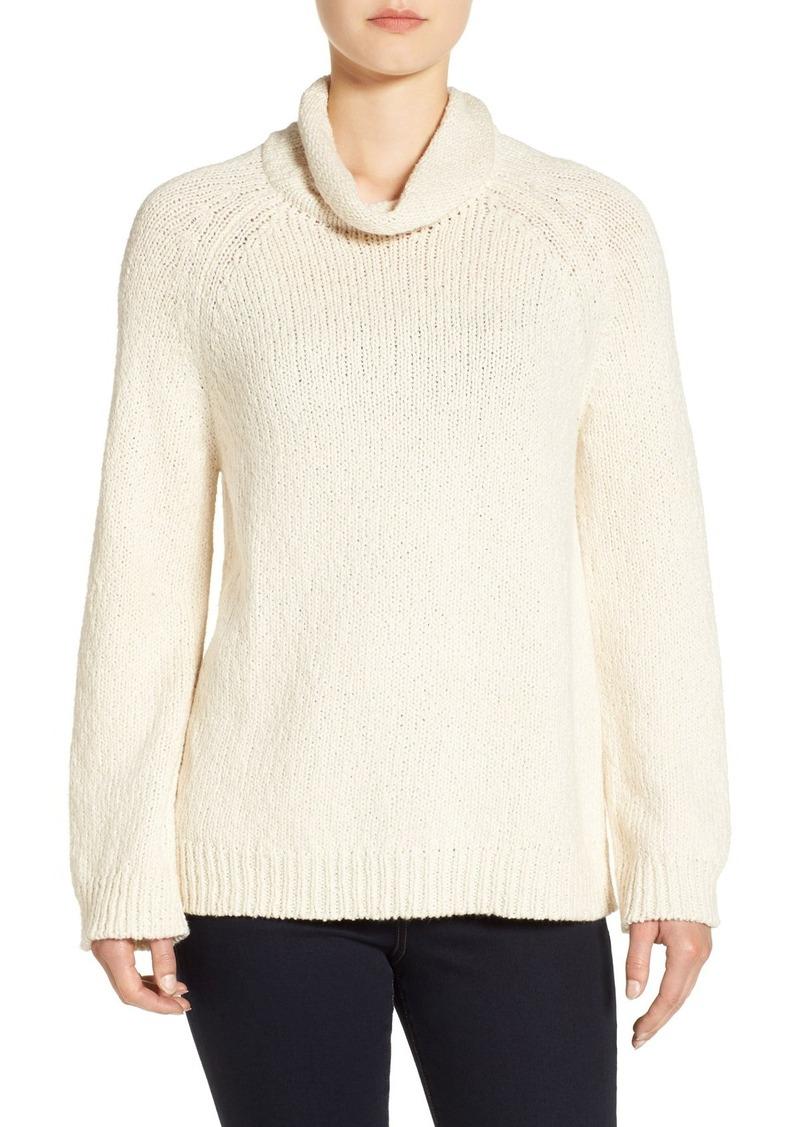 Eileen Fisher Eileen Fisher Organic Cotton Cowl Neck Sweater ...