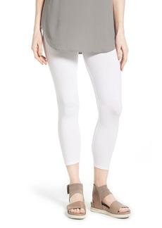 Eileen Fisher Organic Cotton Crop Leggings