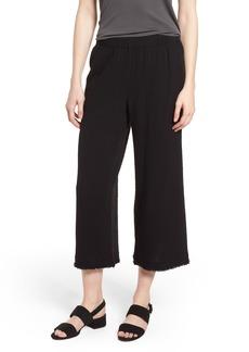 Eileen Fisher Organic Cotton Crop Pants