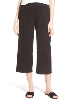 Eileen Fisher Organic Cotton Crop Pants (Regular & Petite)