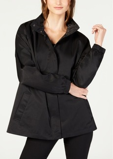 Eileen Fisher Organic Cotton Detachable Hooded Jacket