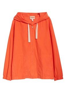 Eileen Fisher Organic Cotton Hooded Zip Jacket (Unisex) (Nordstrom Exclusive)