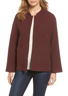 Eileen Fisher Organic Cotton Jacket (Regular & Petite)