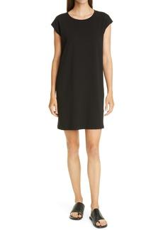 Eileen Fisher Organic Cotton Jersey Shift Dress (Regular & Petite)