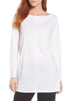 Eileen Fisher Organic Cotton Jersey Tunic