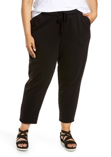 Eileen Fisher Organic Cotton Joggers (Plus Size)