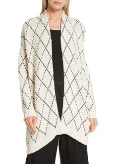 Eileen Fisher Organic Cotton Kimono Cardigan (Regular & Petite)