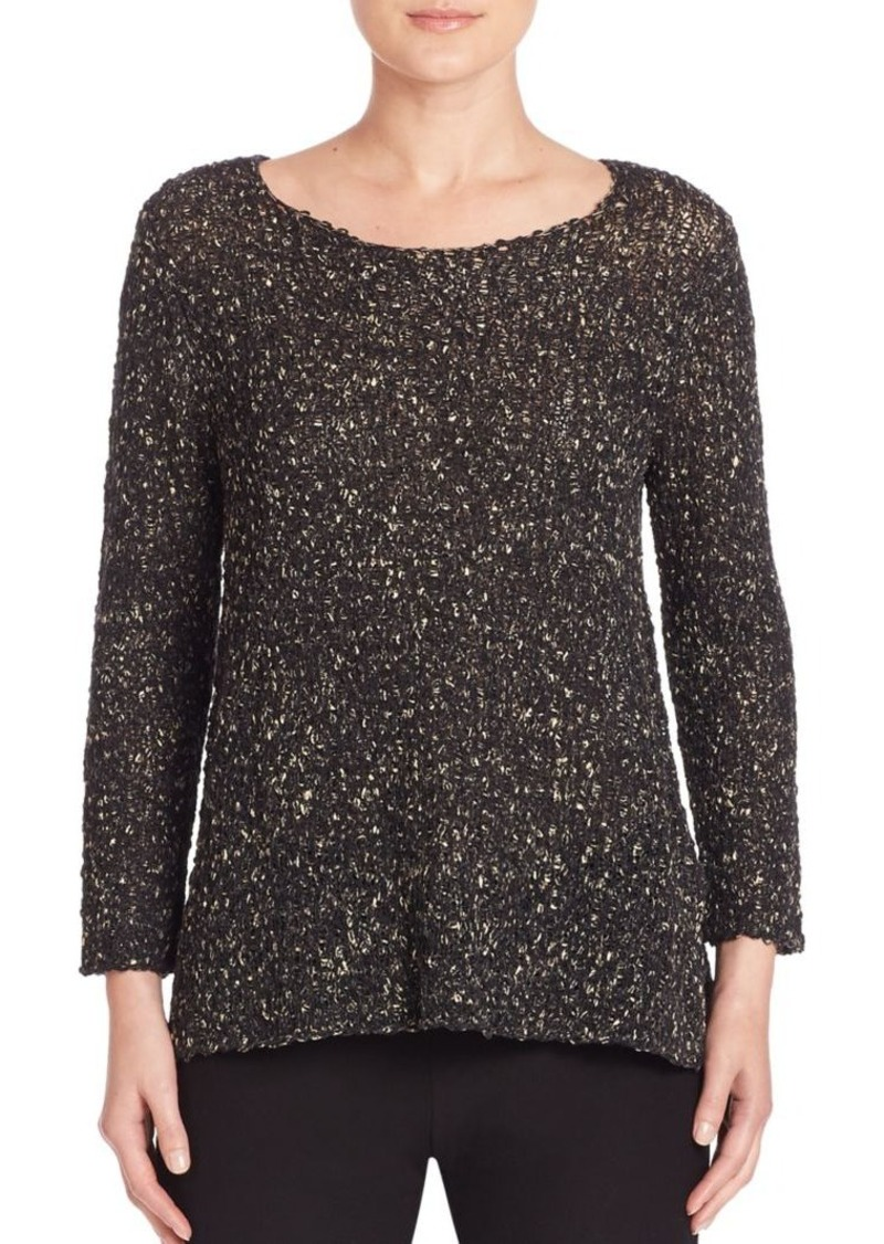 Eileen Fisher Organic Cotton Knit Top