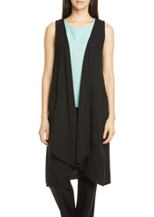 Eileen Fisher Organic Cotton Long Vest