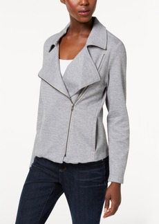 Eileen Fisher Organic Cotton Moto Jacket