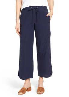 Eileen Fisher Organic Cotton Drawstring Ankle Pants (Nordstrom Exclusive)