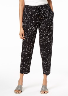 Eileen Fisher Organic Cotton Printed Ankle Pants, Regular & Petite