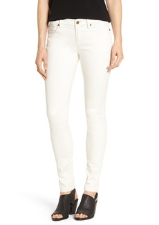 Eileen Fisher Organic Cotton Sateen Skinny Jeans