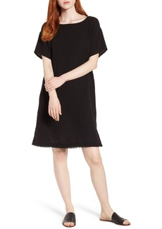 Eileen Fisher Organic Cotton Shift Dress