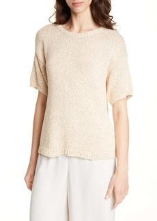 Eileen Fisher Organic Cotton Short Sleeve Sweater