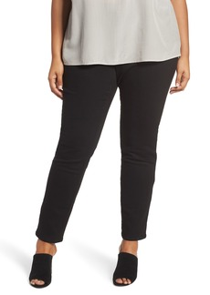 Eileen Fisher Organic Cotton Skinny Stretch Jeans (Plus Size)