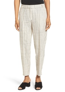 Eileen Fisher Organic Cotton Slouchy Ankle Pants (Nordstrom Exclusive)