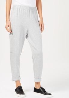 Eileen Fisher Tencel Slouchy Cropped Pants, Regular & Petite