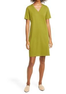 Eileen Fisher Organic Cotton T-Shirt Dress (Regular & Petite)