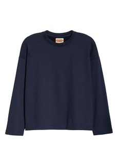 Eileen Fisher Organic Cotton Terry Boxy Pullover (Unisex) (Nordstrom Exclusive)