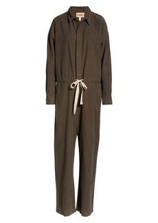 Eileen Fisher Organic Cotton Utility Jumpsuit (Unisex) (Nordstrom Exclusive)