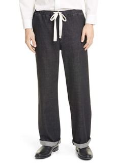 Eileen Fisher Organic Cotton Wide Leg Pants (Unisex) (Nordstrom Exclusive)