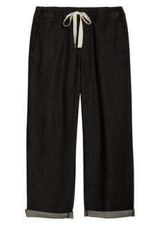 Eileen Fisher Organic Cotton Wide Leg Pants (Unisex) (Nordstrom Exclusive)