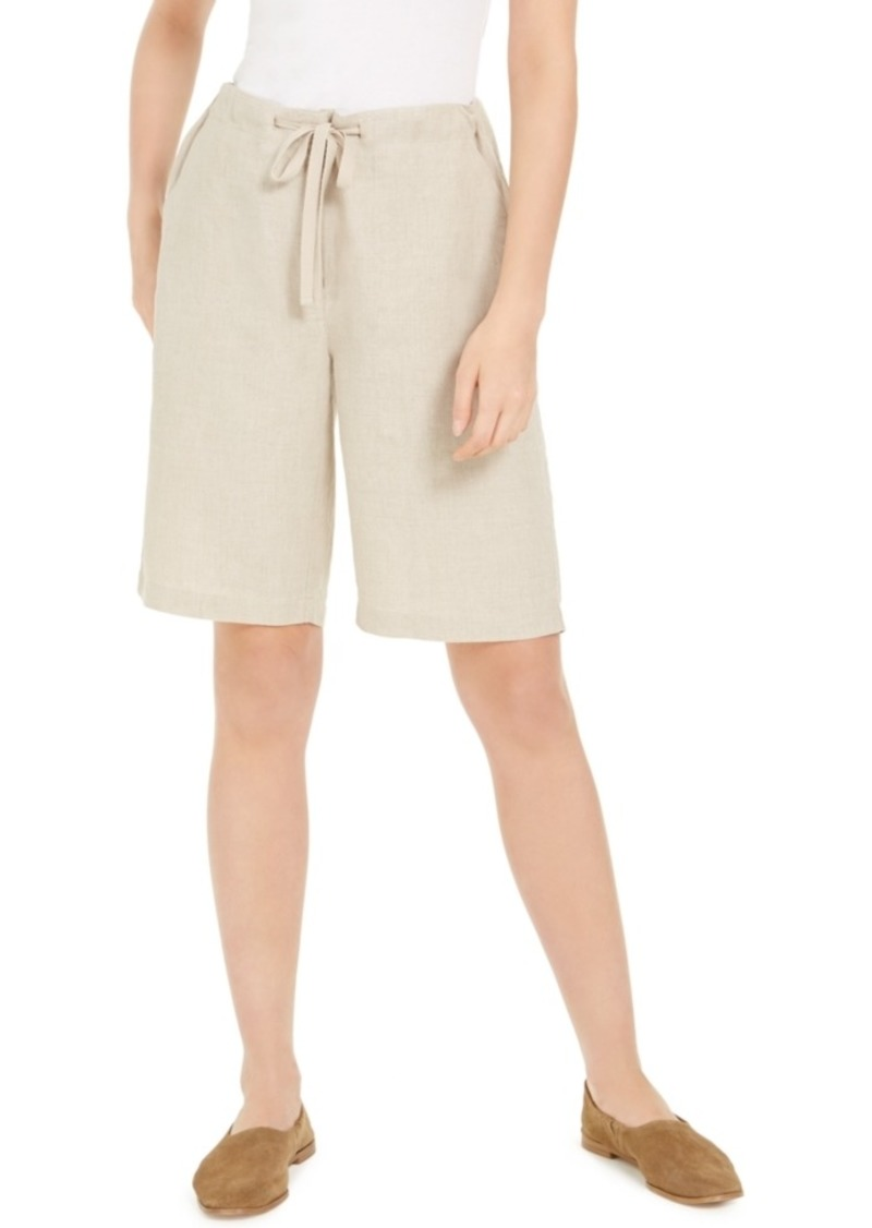 Eileen Fisher Organic Drawstring Shorts